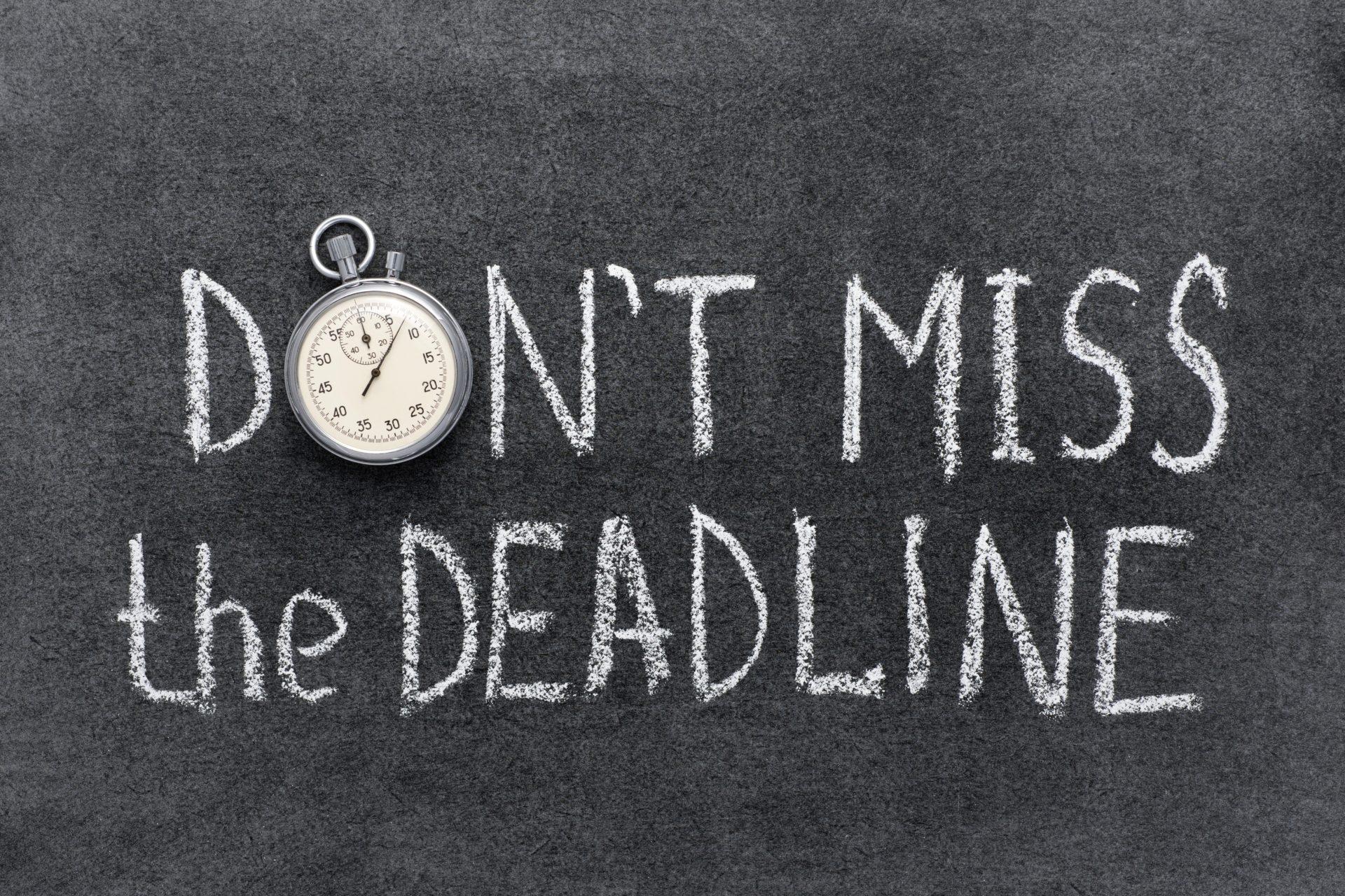 direct loan deadline
